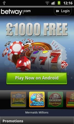 betway mobile casino review