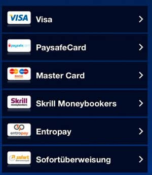 Banking Deposit Methods in Casino Euro Mobile