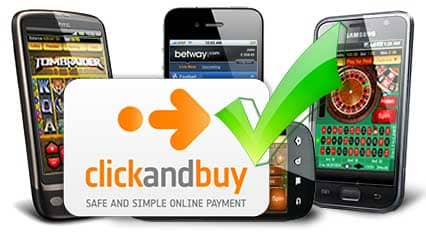 ClickandBuy mobile Casinos for Android