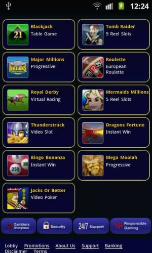 Crazy Vegas Mobile Casino mobile Android Games Preview