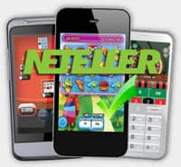 Casino using Neteller