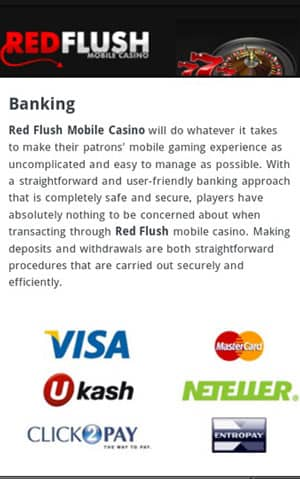 Red flush mobile casino download