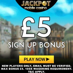 exclusive Mobile Casino Bonus